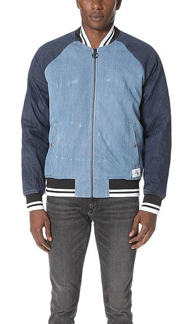 48492a7d5c0 Calvin Klein Jeans Icon Baseball Jacket