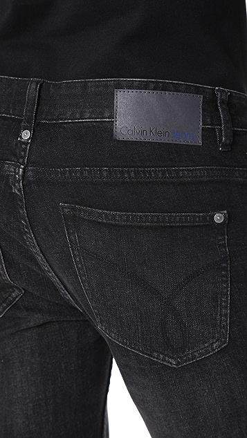 Calvin Klein Jeans Skinny Black Lightning Jeans