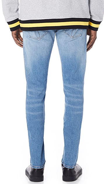 Calvin Klein Jeans Slim Roxy Blue Destroyed Jeans