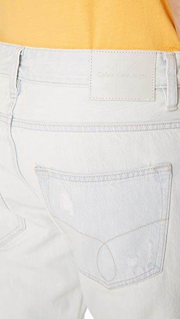 Calvin Klein Jeans Slim Distressed Jeans
