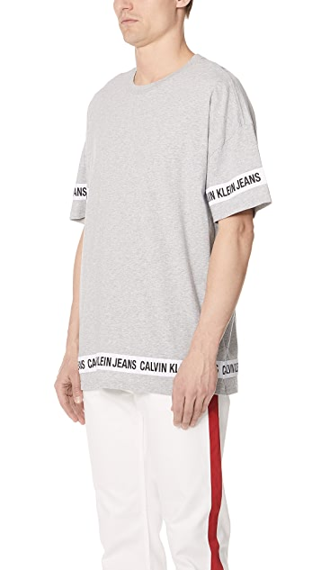 Calvin Klein Jeans Logo Tape Tee