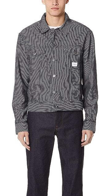 Calvin Klein Jeans Teddy Stripe Jacket