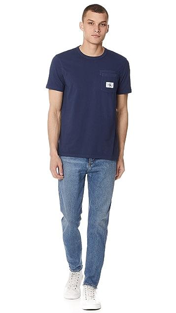 Calvin Klein Jeans Crew Pocket Tee