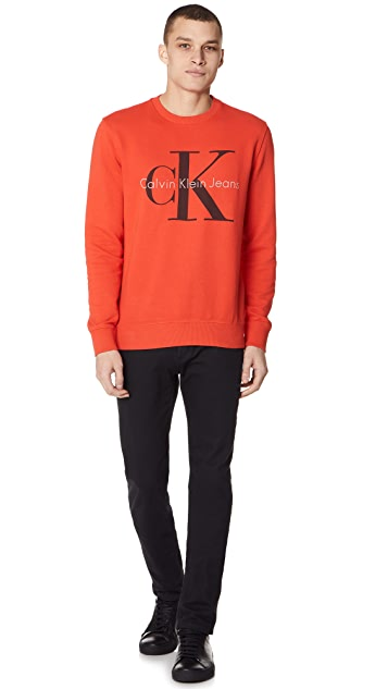 Calvin Klein Jeans Color Sweatshirt