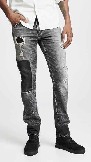 Calvin Klein Jeans Patchwork Jeans