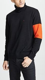 Calvin Klein Jeans Colorblock Turtleneck Sweater