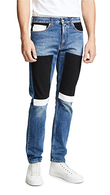 Calvin Klein Jeans Slim Blocked Keeling Patch Jeans