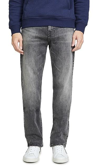 Calvin Klein Jeans Relaxed Straight Leg Jeans