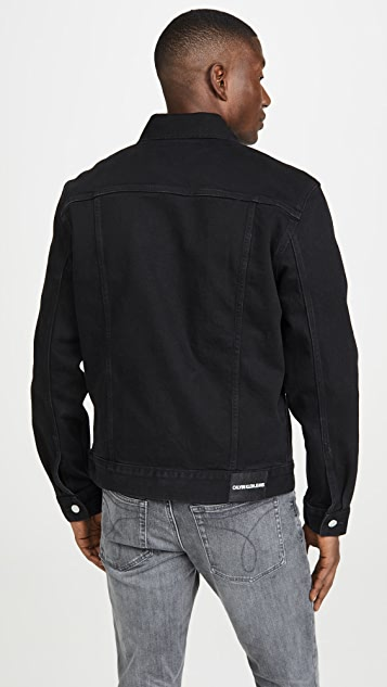 Calvin Klein Jeans Foundation Trucker Embro Jacket