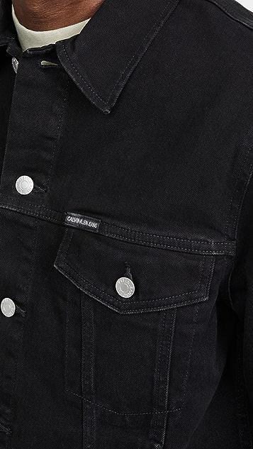 Calvin Klein Jeans Foundation Trucker Embro Jacket