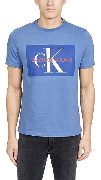 Calvin Klein Jeans EDI Box Monogram Crew Neck Tee
