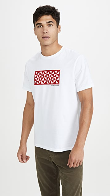 Calvin Klein Jeans Quilted Kaleidoscope Tee