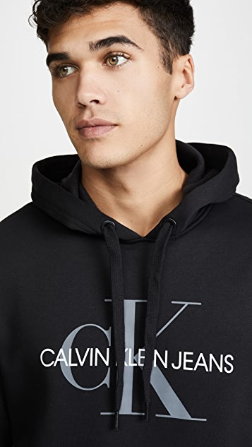 Calvin Klein Jeans Monogram Logo Hoodie