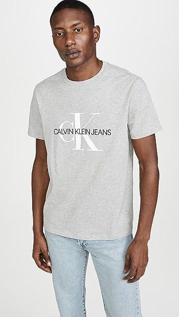 Calvin Klein Jeans Monogram Graphic Tee