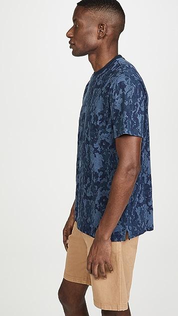 Calvin Klein Jeans Camo Floral Crew Neck Tee