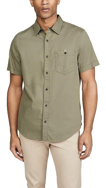 Calvin Klein Jeans Short Sleeve Slub Solid Shirt