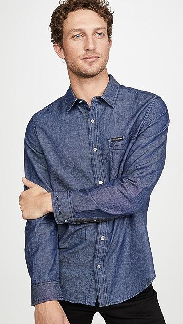 Calvin Klein Jeans Chambray Omega Shirt