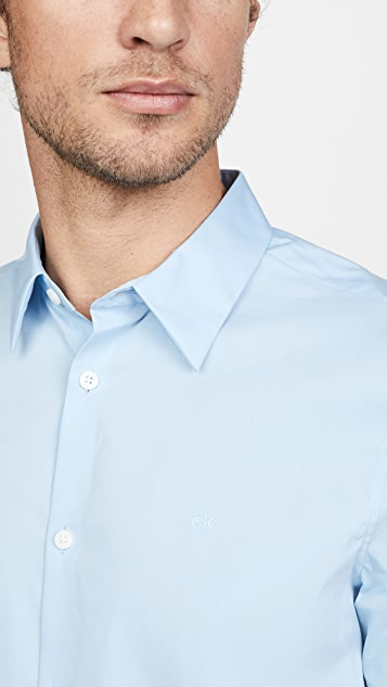 Calvin Klein Jeans Short Sleeve Solid Shirt