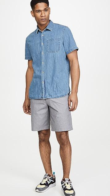 Calvin Klein Jeans Diamond Dobby CK Stretch Shorts