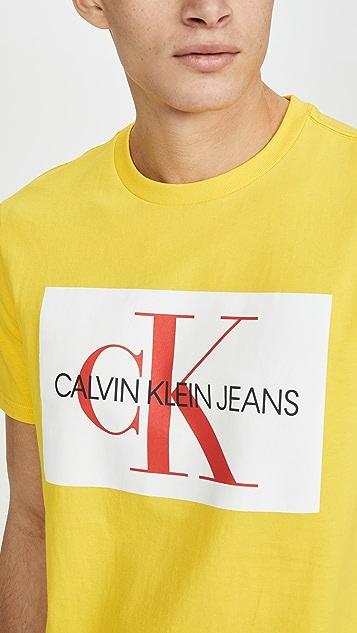 Calvin Klein Jeans Edi Box Monogram Tee