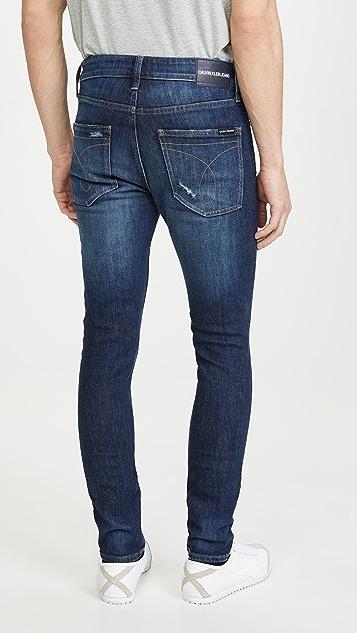 Calvin Klein Jeans Skinny MJ Blue Jeans