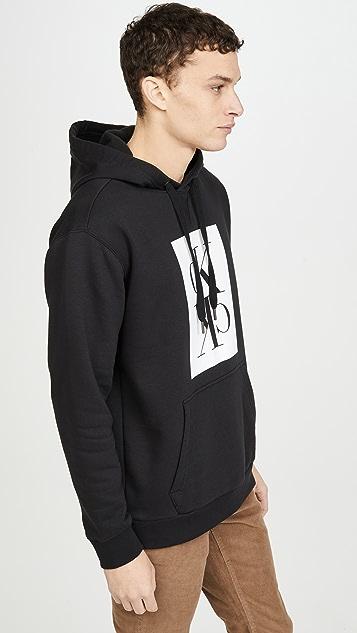 Calvin Klein Jeans Mirror Popover Boxy Sweatshirt