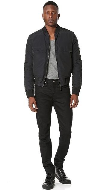 Calvin Klein Collection Madrid Reversible Bomber