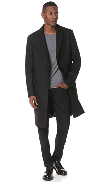 Calvin Klein Collection Neiden Overcoat