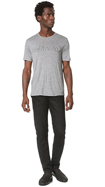 Calvin Klein Collection Jan Reverse Logo Tee