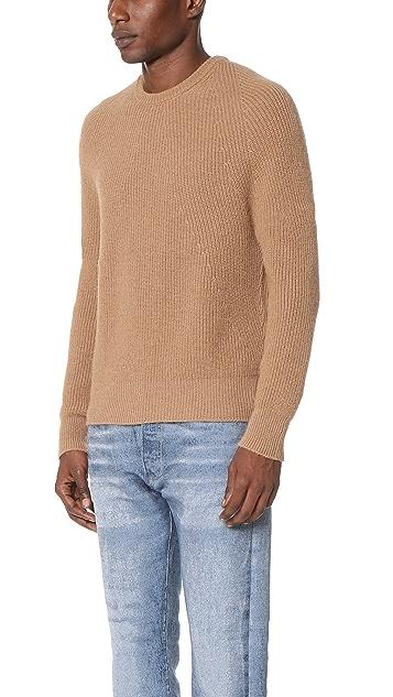 Calvin Klein Collection Nates Camel Hair Sweater