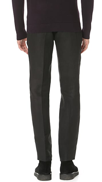 Calvin Klein Collection Crosby Linen Trousers