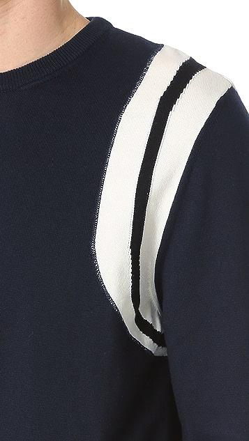 Calvin Klein Collection Riding Intarsia Sweater