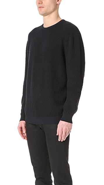 Calvin Klein Collection Regis Bomber Sweater