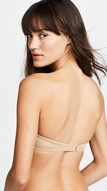 Calvin Klein Underwear Naked Glamour Strapless Push Up Bra