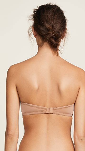 Calvin Klein Underwear Naked Glamour Strapless Push Up Bra