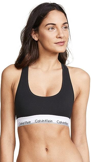 Calvin Klein Underwear 时尚棉质休闲文胸