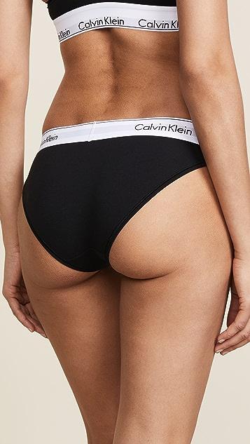 Calvin Klein Underwear 时尚棉质比基尼短裤