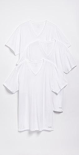 Calvin Klein Underwear - 3 Pack Classic Regular Fit V-Neck Tee