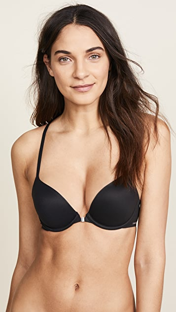 cda515c2e1406 Calvin Klein Underwear Perfectly Fit Racer Back T-Shirt Bra | SHOPBOP