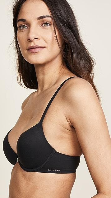 Calvin Klein Underwear Бюстгальтер-футболка со спиной-борцовкой Perfectly Fit