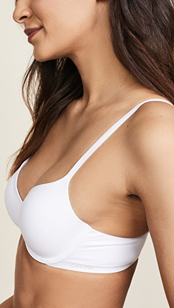 03b71c09ed781 ... Calvin Klein Underwear Perfectly Fit Memory Touch T-shirt Bra ...