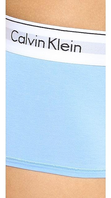 Calvin Klein Underwear 时尚低腰平角内裤