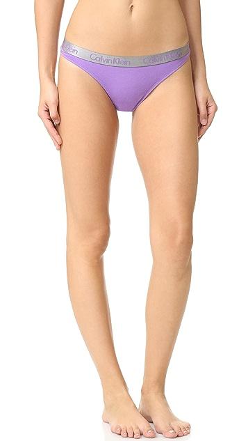 Calvin Klein Underwear Radiant Cotton Thong 3 Pack