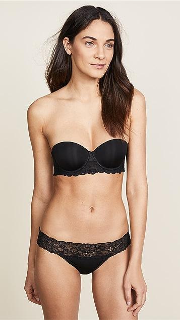 Calvin Klein Underwear Seductive Comfort 无肩带提升多方位罩杯