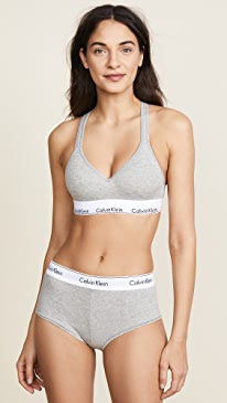 Modern Cotton Lightly Lined Bralette