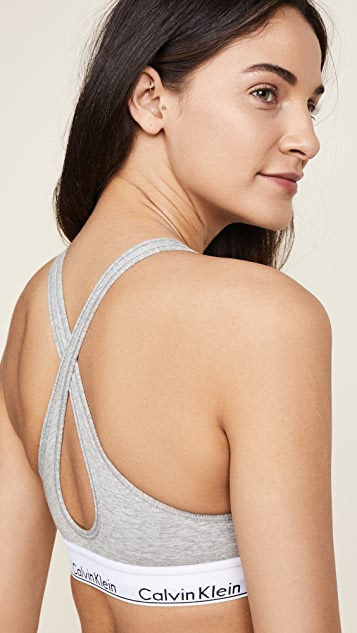 Calvin Klein Underwear Modern Cotton Lightly Lined Bralette