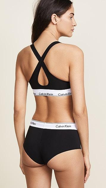 df08dc90903 ... Calvin Klein Underwear Modern Cotton Lightly Lined Bralette ...
