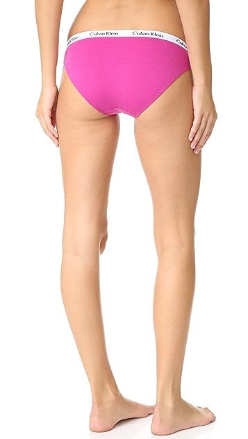 ade79f35bc ... Calvin Klein Underwear Carousel Bikini 3 Pack ...