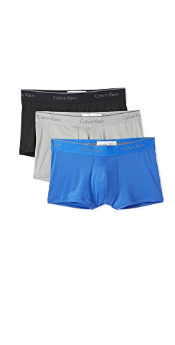Calvin Klein Underwear - 3 Pack Microfiber Low Rise Trunks