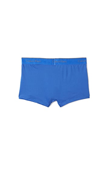 Calvin Klein Underwear 3 Pack Microfiber Low Rise Trunks